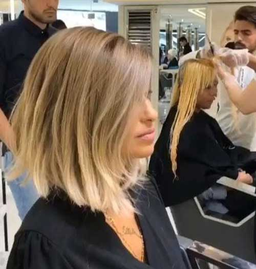 Blonde Blunt Bob Haircut-11