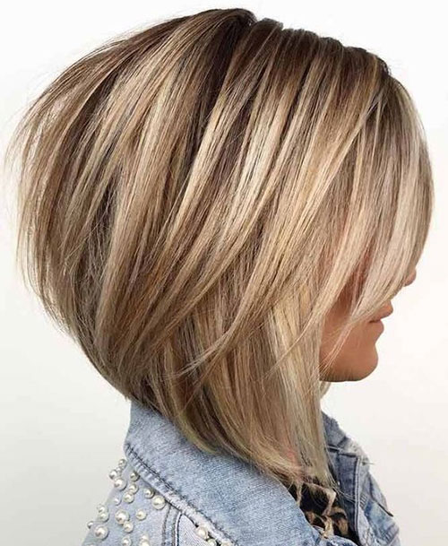 Layered Graduated Bob Hairstyles-11