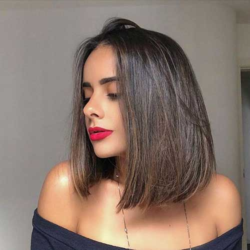 Long Blunt Bob Haircut-12