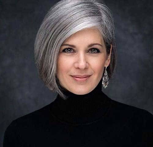 Silver Bob Haircuts for Over 50-12