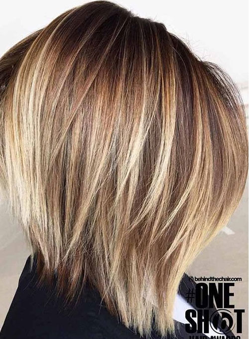 Graduated Bob Hairstyles Highlights-13