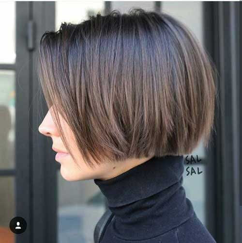 Short Blunt Bob Haircut-20