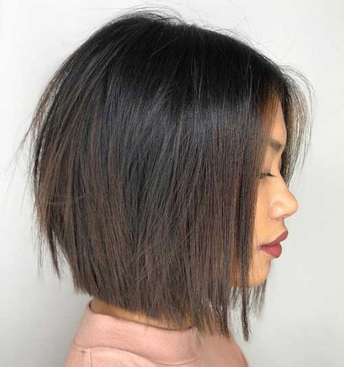 Layered Blunt Bob Haircut-21