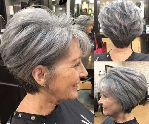 Graduation Pixie Bob Haircuts for Over 50-22