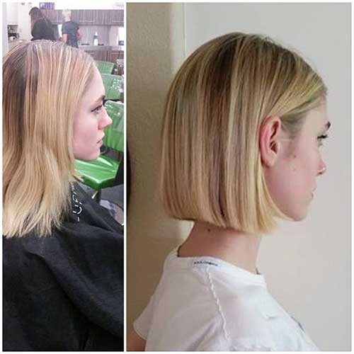 Straight Blunt Bob Haircut-23