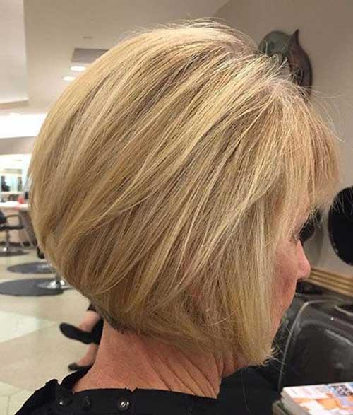 Graduation Bob Haircuts for Over 50-7