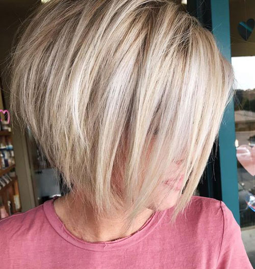 Cute Graduated Bob Hairstyles-9