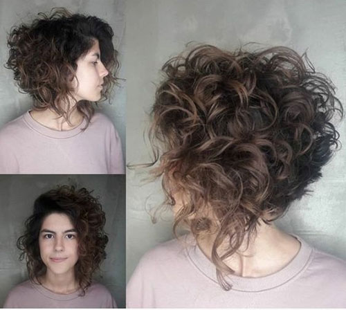 Curly Bob Hairstyles And Cuts
