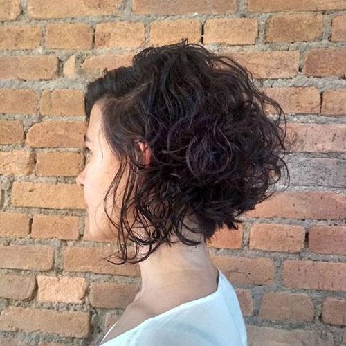 Short Bob Curly Hair