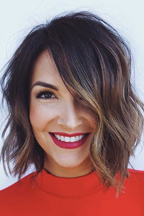 Cute Bob Haircuts Soft Waves-10