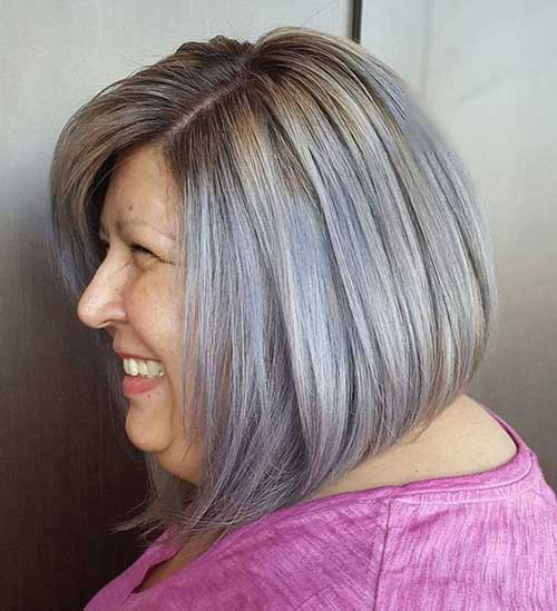 Inverted Bob Haircuts for Over 50-10