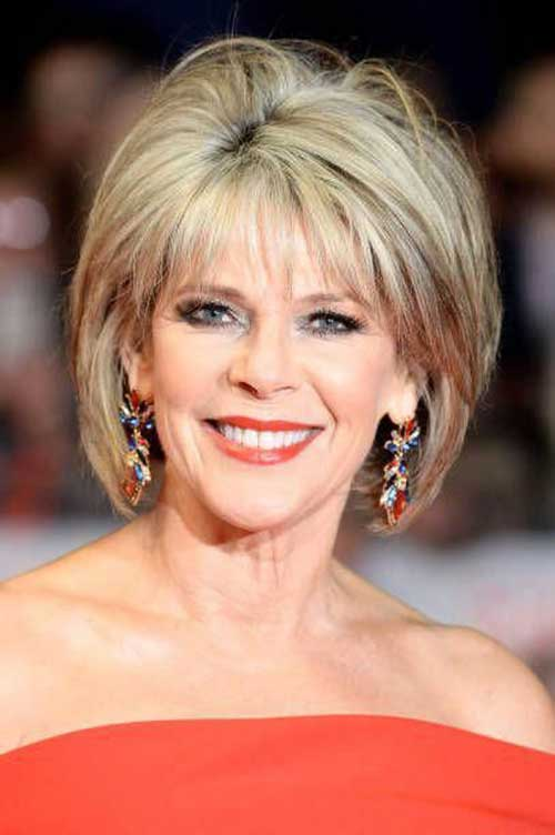 Mom Bob Haircuts for Over 50-11