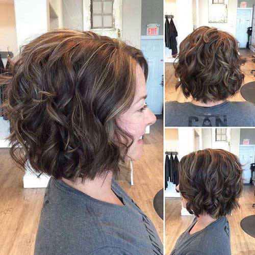 Bob Haircuts for Curly Hair-14