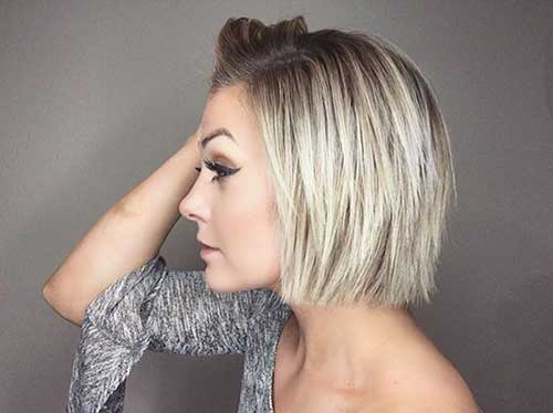 Short Bob Haircuts for Fine Hair-17