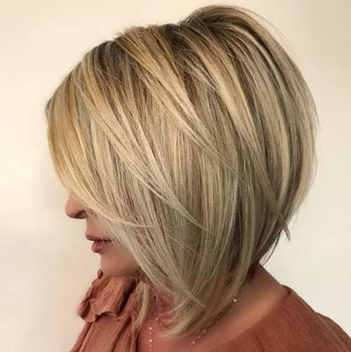 Bob Haircuts for Women Over 40-17