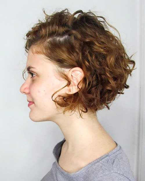 Bob Haircuts for Curly Hair-17