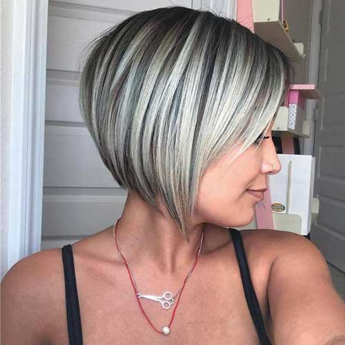 Short Bob Haircuts for Fine Hair-18