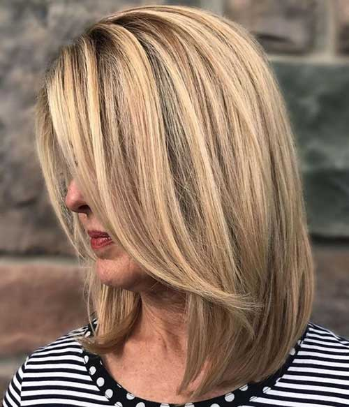 Bob Haircuts for Women Over 40-19