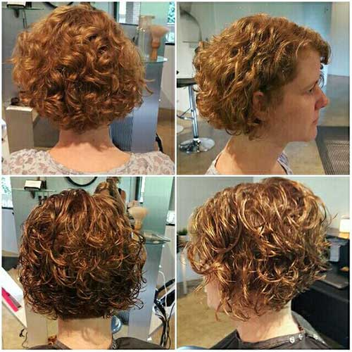 Bob Haircuts for Curly Hair-19