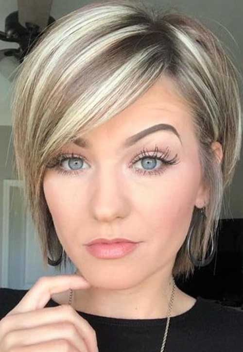 Short Bob Haircuts for Fine Hair-21