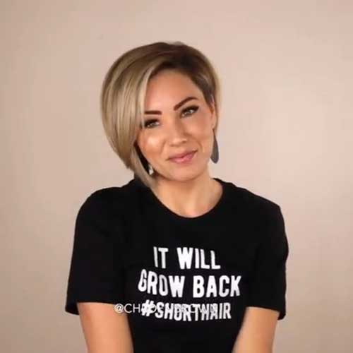 Short Bob Haircuts for Fine Hair-28