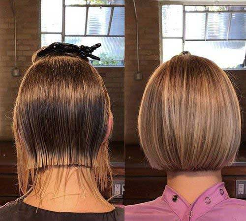 Short Bob Haircuts for Fine Hair-29