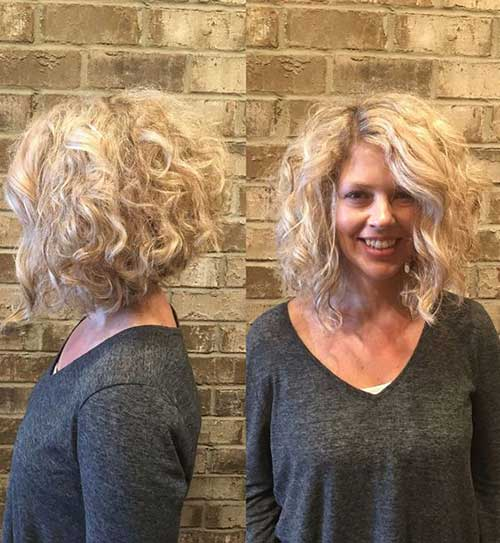 Bob Haircuts for Curly Blonde Hair-6