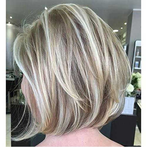 Short Layered Bob Balayage Haircuts-7