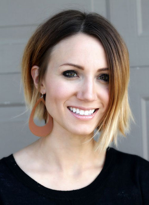 Ombre Bob Haircuts for Fine Hair-7