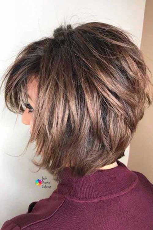 Simple Bob Haircuts for Over 50-7