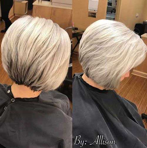 Easy Bob Haircuts for Over 50-8