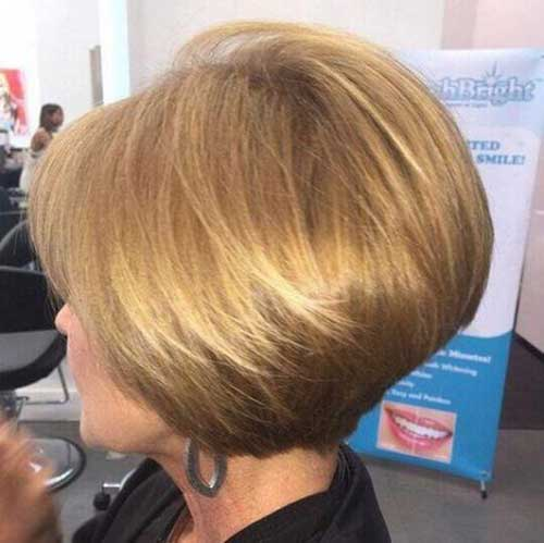 Graduation Layers Bob Haircuts for Women Over 40-8