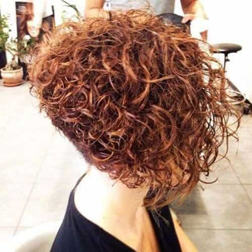 Graduated Bob Haircuts for Curly Hair-9
