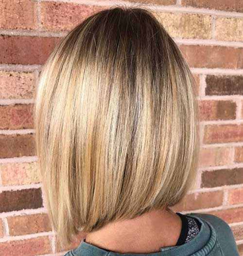 Short Line Bob Haircuts for Fine Hair-9