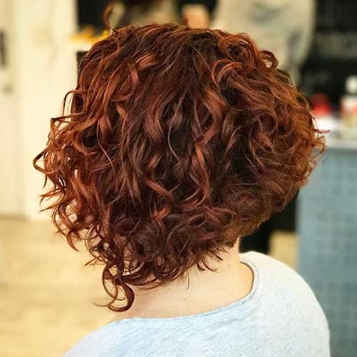 Short Curly Bob Hairstyles Bob Haircut And Hairstyle Ideas