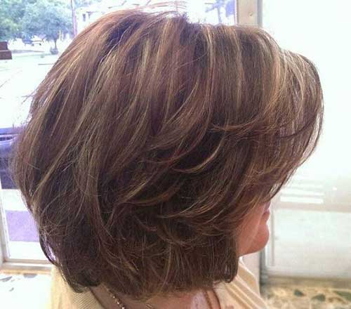Cute Layered Bob Haircuts