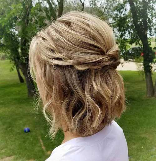 Cute And Chic 15 Half Up Half Down Bob Bob Hairstyles