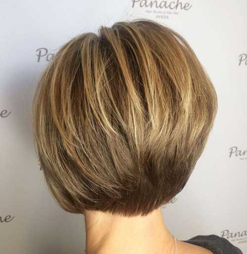 Short Bob Haircuts for Women Over 40