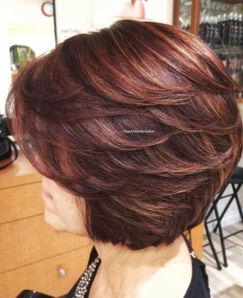 Short Bob Haircuts for Women Over 50