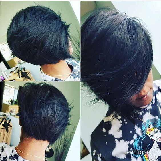 Bob Haircuts for Black Women-10