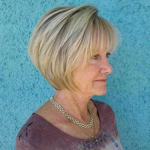 Bob Hairstyles for Women Over 50-12