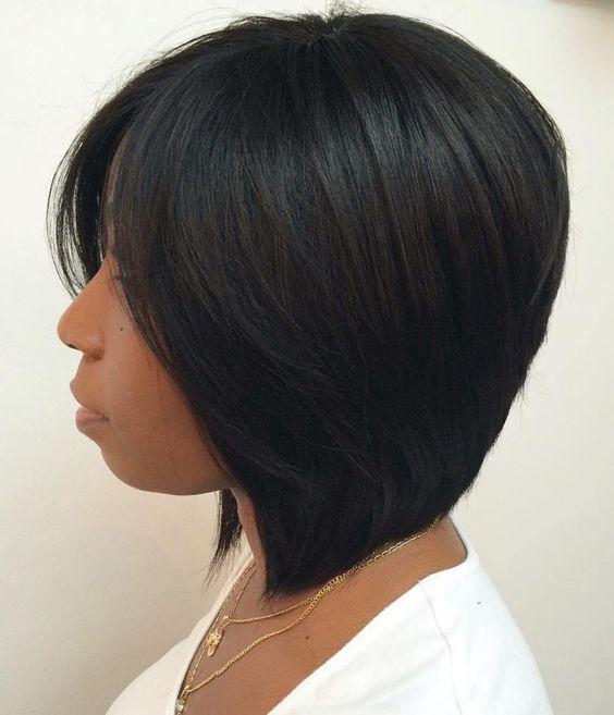 Bob Haircuts for Black Women-14