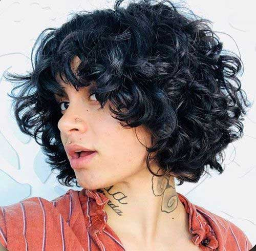 20 Pics Of Curly Bob Hairstyles Bob Hairstyles 2018