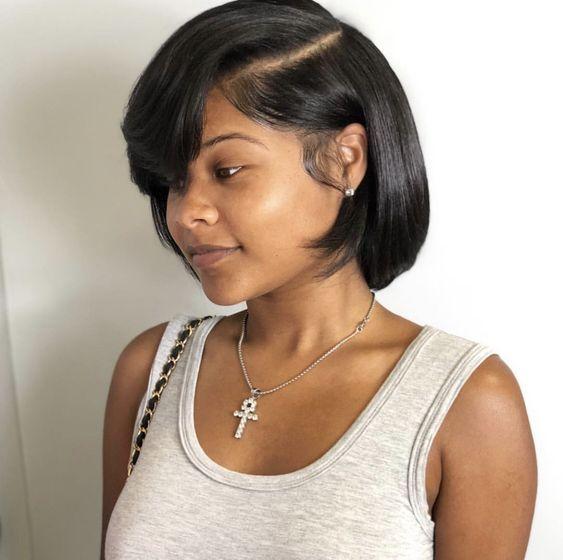 Bob Haircuts for Black Women-17