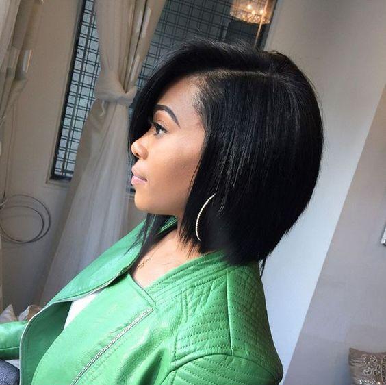 Bob Haircuts for Black Women-18