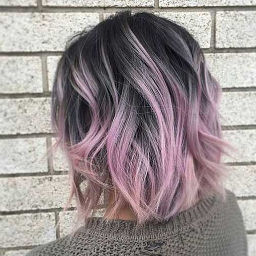 Bob Hair Color Ideas-19