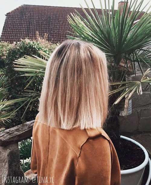 Shoulder Length Bob Haircuts-20
