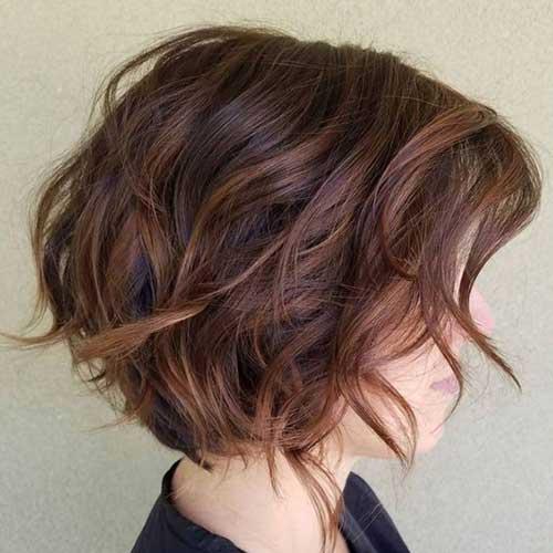 Long Bob Wavy Hair