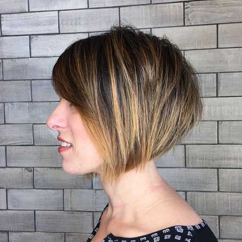 Choppy Short Bob Hairstyles-8