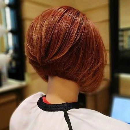 Short Graduated Bob Haircuts